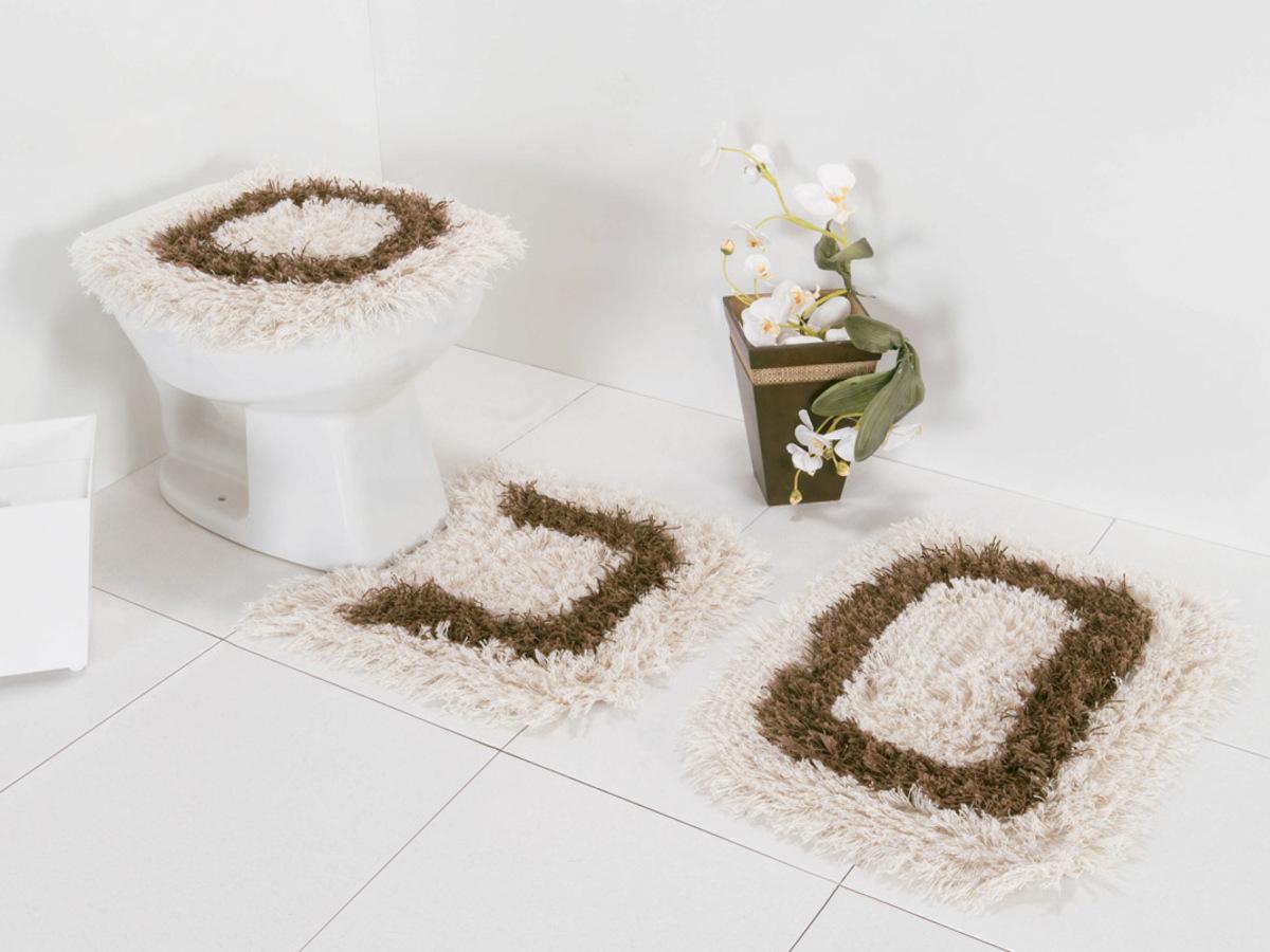 Jogo de Banheiro Algodão